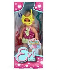 Simba Evi Love Snorkel Fun Doll Multicolor - 4 Inches for Rs. 187