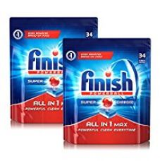 Buy Finish All In 1 Max Powerball Dishwasher Tablets – 68 Tablets (Pack Of 2) from Amazon