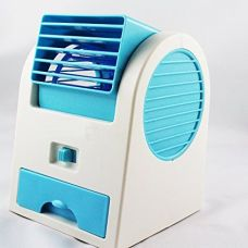 Buy One Stop Bazaar 5G Gold 5G Gold Numex Nu063 Mini Small Cooling Portable Desktop Dual Bladeless Fan from Amazon