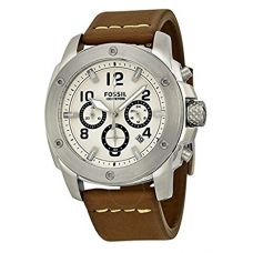 Buy Fossil Modern Mac Analog Beige Dial Men's Watch-FS4929 from Amazon