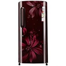 Buy LG 215 L 3 Star Direct-Cool Single Door Refrigerator (GL-B221ASAW.DSAZEBN, Scarlet Aster) from Amazon