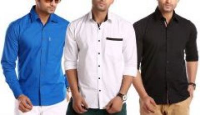 Buy Stylox Pack Of 3 Casual Shirts For Men for Rs. 799