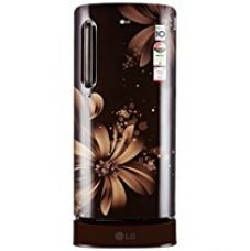 Buy LG 190 L 3 Star Direct-Cool Single Door Refrigerator (GL-D201AHAW.AHAZEBN, Hazel Aster) from Amazon