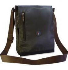 Flat 38% off on My Pac-vivaa Messenger Sling Bag For Laptop Military Grey C11564-44