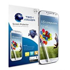 Buy Tech Armor Anti-Glare/Anti-Fingerprint screen Protector for Samsung Galaxy S4 (Pack of 3) from Amazon