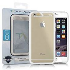 Tech Armor FlexProtect Case for Apple iPhone 6/6s (Frosted Clear-Clear) for Rs. 799
