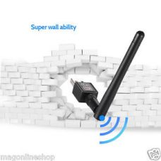 600 Mbps USB 802.11n WiFi Wireless Lan Network Card Adapter With Antenna for Rs. 200