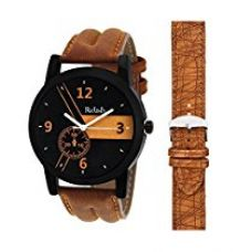 Relish Analogue Multi-Colour Dial Men's Watch Relish-542Ad for Rs. 299