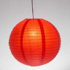 Buy Skycandle 8 Inch Multicolor Coloured Round Paper Craft Hanging Lights for Rs. 75
