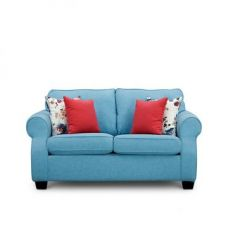 Opulence Two Seater Sofa Blue for Rs. 35,000