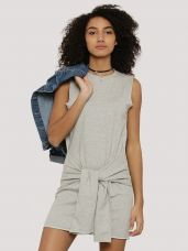 EVAH LONDON Sweat Dress With Front Tie Up for Rs. 899