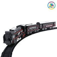 Buy Smiles Creation Battery Operated Train Set with Light Toy for Kids from Amazon