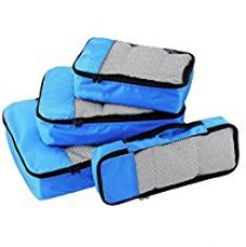 Buy Rl Blue Combo Of 4 Small .Medium , Large And Slim Packing Organizer from Amazon