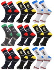 Buy Zacharias Men's Ankle Socks Pack of 9 Pairs from Amazon