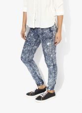 Get 50% off on Vero Moda Blue Washed Loose Fit Coloured Pants