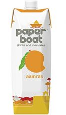 Buy Paper Boat Juice, Aamras, 1L from Amazon