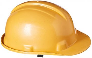 Safari Pro Labour Safety Helmet, Dark Yellow for Rs. 255
