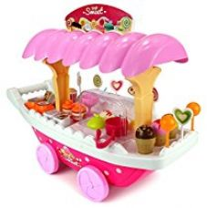 Toyshine Ice Cream Kitchen Play Cart Kitchen Set Toy with Lights and Music for Rs. 1,399