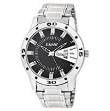 Espoir Analogue Black Dial Men's Watch - Andy0507 for Rs. 318