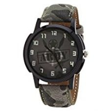 Golden Bell® Analogue Grey Dial Men's Watch -Gb-766Gryd for Rs. 329