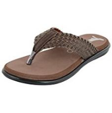 ESSENCE Men's Brown Thong Sandals - 7 UK for Rs. 499