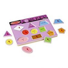 Melissa & Doug 728 Shapes Sound Puzzle for Rs. 949