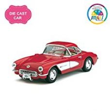Kinsmart 5'' 1:34 Scale Chevrolet Corvette 1957 Classic Car Toys for Kids from Smiles Creation (Multicolour) for Rs. 399