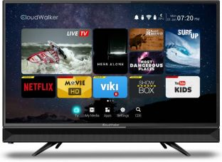Buy CloudWalker Cloud TV 80cm (32 inch) HD Ready LED Smart TV  (CLOUD TV32SH) from flipkart