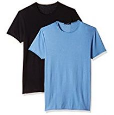 Buy Qube By Fort Collins Men's T-Shirt (Pack of 2) from Amazon
