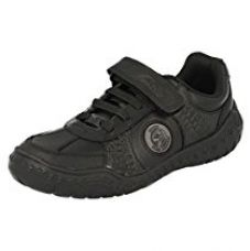 Clarks Boy's Black Leather Sports Shoes - 7 kids UK/India (24 EU) for Rs. 1,349