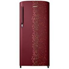 Samsung 192 L 2 Star Direct Cool  Refrigerator (RR19M1412RJ/RR19M2412RJ , Royal Tendril Red) for Rs. 13,700