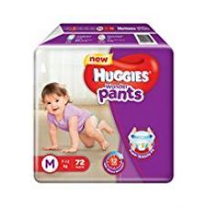 Buy Huggies Wonder Pants Medium Size Diapers (72 Count) from Amazon