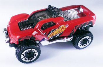 Get 58% off on Hot Wheels HW Dawgzilla  (Red, Black)