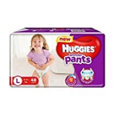 Huggies Wonder Pants Large Size Diapers (48 Count) for Rs. 454