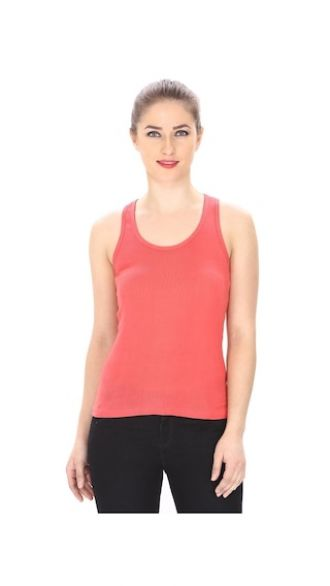 Buy Friskers Gajri Color Tank Top for Rs. 75