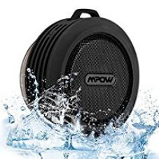 Buy Mpow Buckler Bluetooth Wireless Waterproof Shower Speaker with Mic, Hands-Free Calling Function for Shower, Outdoor Activities from Amazon