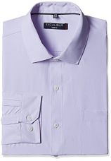 Buy Excalibur Men's Slim Fit Cotton Formal Shirt (400016278385_Mauve_42) from Amazon
