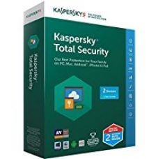 Buy Kaspersky Total Security Multidevice - 2 Users, 1 Year (2 Split Keys Inside) (CD) (Chance to win Rs.1000 Amazon Gift voucher) from Amazon