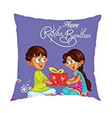 Buy Aart Dear Brother, Best Brother Printed Cushion Cover (12 X 12) with Filler for Raksha Bandhan Gifts from Amazon