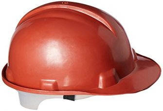 Buy Safari Pro Labour Safety Helmet, Red from Amazon