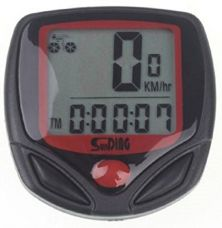 Sunding SD 548 B 14 Function Waterproof Bicycle Computer Odometer Speedometer by RSI for Rs. 340