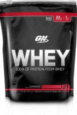 Optimum Nutrition Whey Whey Protein  (797 g, Strawberry) for Rs. 1,242