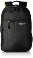 Buy American Tourister Polyester 27 Ltrs Black Laptop Backpack (AMT BOP2017 LAPTOP BKPK2-BLACK) from Amazon