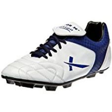 Vector X Fusion Football Shoes, UK 7 (White/Blue) for Rs. 454