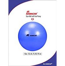 Buy Kamachi Gym Ball with Foot Pump, 75cm from Amazon