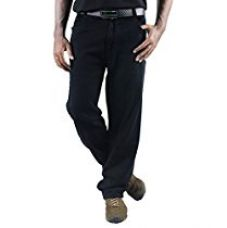 Buy 0-Degree Mens Cotton Jeans (Jemablack28 _Black _28) from Amazon