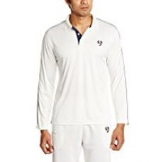 SG Century Full Sleeves Cricket Shirt, Extra Large (White) for Rs. 534