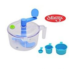 Buy One Stop Shop Slings Dough/Atta Maker Must For Every Kitchen, Blue from Amazon