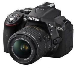 Nikon D5300 With 18-55mm VR Lens for Rs. 41,950