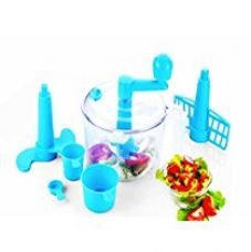 Vivir® Advance Chop And Churn Vegetable Cutter And Dough Maker (Blue) for Rs. 299